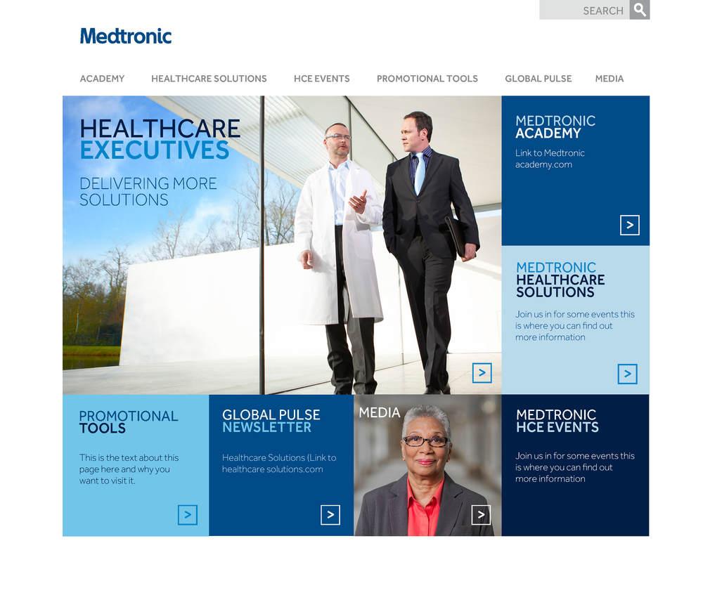MEDTRONIC micro-site