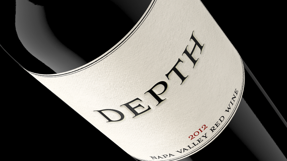 Depth Napa Valley Red Wine: package design