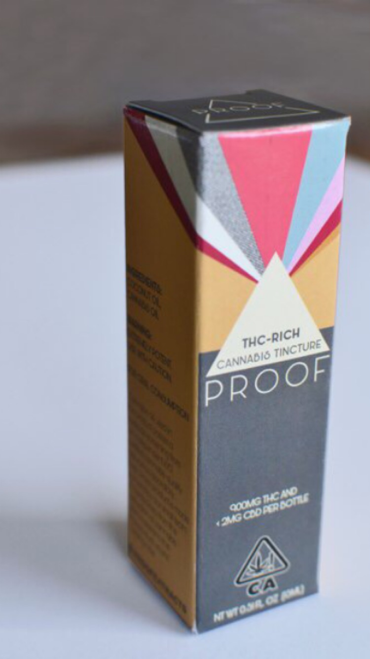 Proof Tincture Package Design