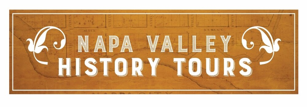 Logos for Napa County Historical Society tour