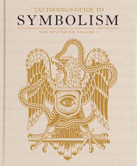 """TATTOOING'S GUIDE TO SYMBOLISM Vol. 1 Special Edition 9.5"""" x 12"""" Leatherette with Gold Foil Stamp. Signed and Numbered (limited to 150/includes 2 prints)"""
