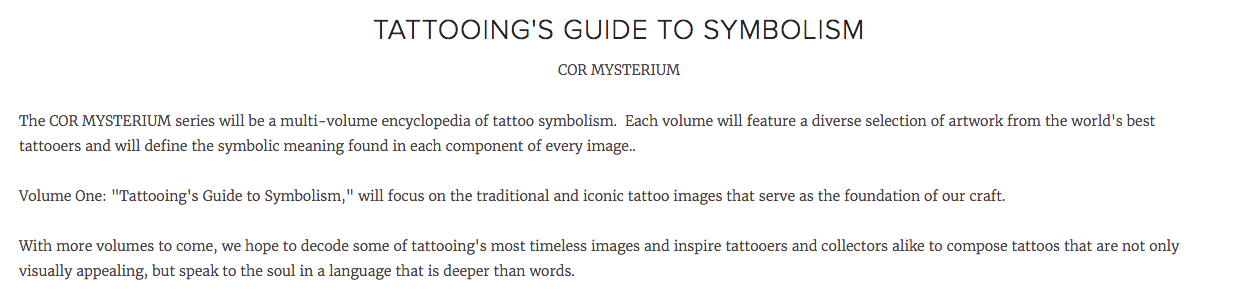 Tattooings Guide To Symbolism Special Edition Neversleep
