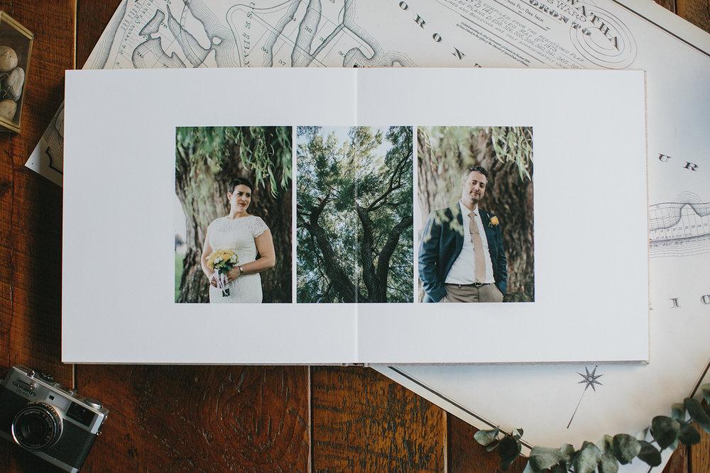 Minimal Fine Art Album Ryanne Hollies Photography