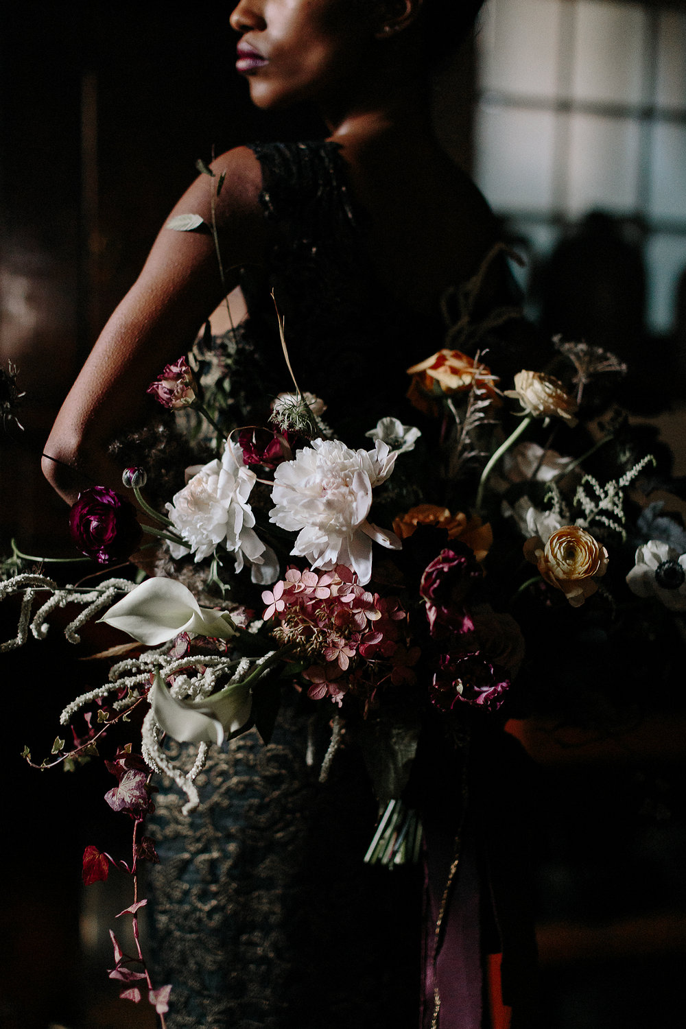 ryanne-hollies-photography-campbell-house-stylized-shoot-kitchen-cellar-moody-dark-dramatic-romantic-narces-gown-black-bride-stunning-inspiration-junebug-weddings-green-wedding-shoes.jpg