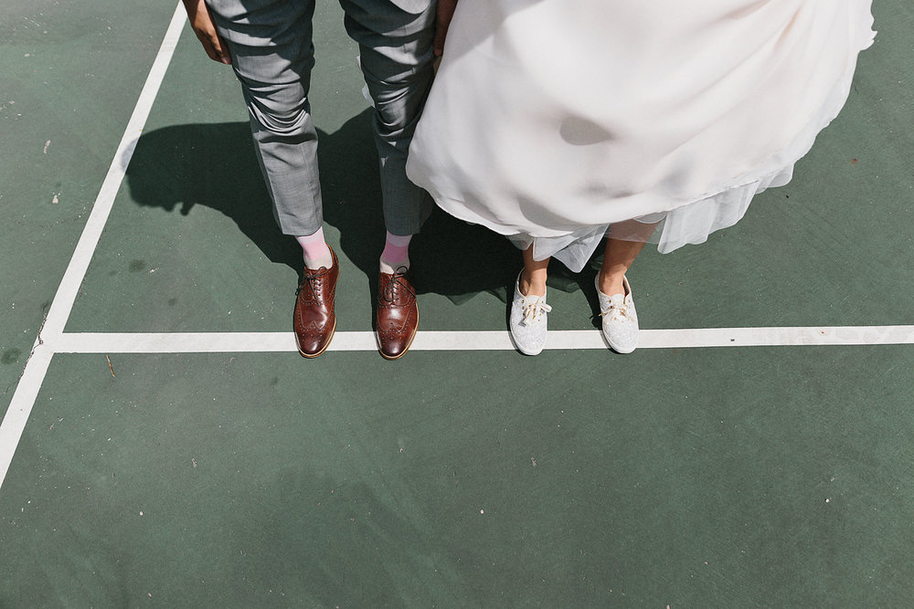 Graydon-Hall-Manor-Wedding-Toronto's-Best-Wedding-Photography-Ryanne-Hollies-Intimate-Small-Modern-Colourful-brunch-wedding-reception-bride-and-groom-mixed-wedding-muslin-candian-portraits-shoes-keds-kate-spade.jpg