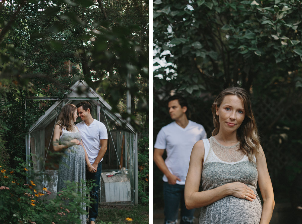 spread-4-hamilton-toronto-inhome-maternity-session-toronto-maternity-photographer-ryanne-hollies-photography-candid-documentary-lifestyle-session-pregancy-momma-to-be-gardening-in-backyard-maternity-photos-inspiration-beautiful-mother.jpg