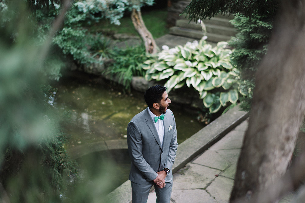 Graydon-Hall-Manor-Wedding-Toronto's-Best-Wedding-Photography-Ryanne-Hollies-Intimate-Small-Modern-Colourful-Wedding-grooms-reaction-to-beide-for-emotional-first-look.jpg