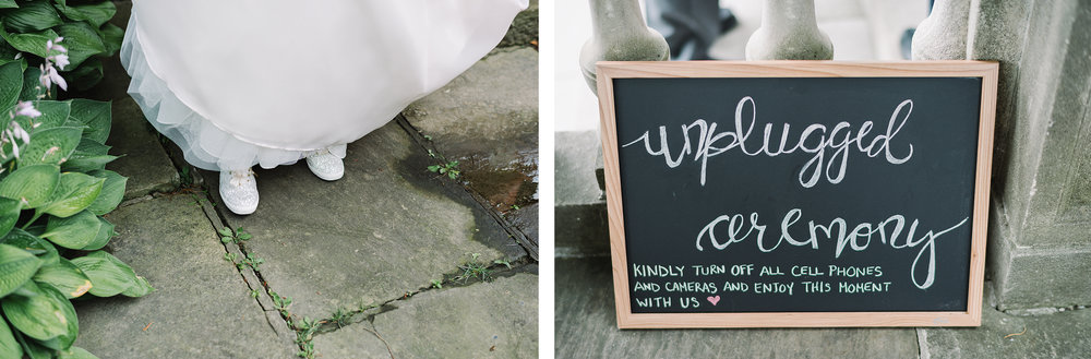 Graydon-Hall-Manor-Wedding-Toronto's-Best-Wedding-Photography-Ryanne-Hollies-Intimate-Small-Modern-Colourful-Wedding-ceremony-uplugged-ceremony-sign.jpg