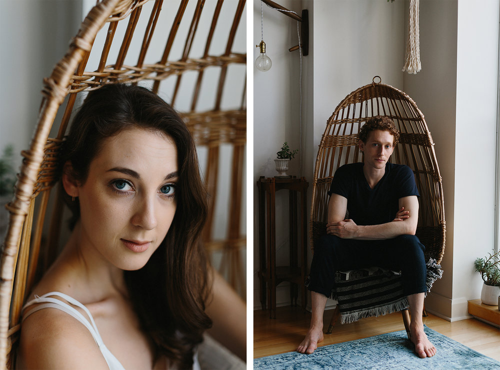 spread-15-ryanne-hollies-photography-toronto-engagement-session-fashion-editorial-in-home-session-urban-outfitters-home-junebug-weddings-green-wedding-shoes-inspiration-basket-chair-editorial-portrait-of-female-ballet-dancer-film.jpg