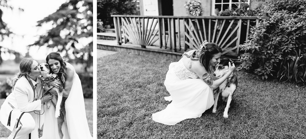 32-cambium-farms-wedding-ryanne-hollies-photography-gay-wedding-lgbtq-trendy-cool-badass-junebug-weddings-inspiration-ceremony-in-old-barn-bride-and-her-dog-bertie.jpg