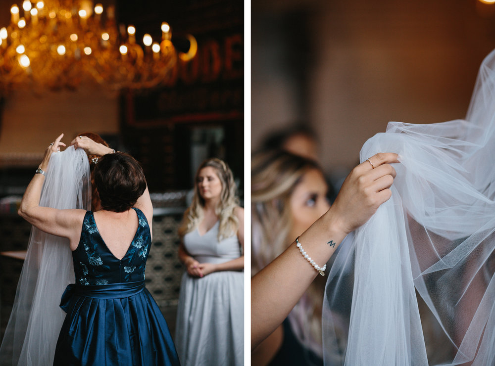 4-downtown-toronto-wedding-photographer-ryanne-hollies-photography-airship37-distillery-district-wedding-day-modern-minimalist-venues-in-toronto-cool-trendy-hipster-bride-getting-ready-mom-putting-on-veil-emotional-crying-documentary.jpg