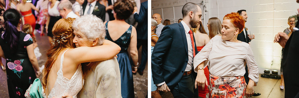 44-torontos-best-wedding-photographers-ryanne-hollies-photography-photojournalism-artistic-moody-toronto-airship37-graffiti-editorial-reception-dancing-together-hilarious-good-times.jpg
