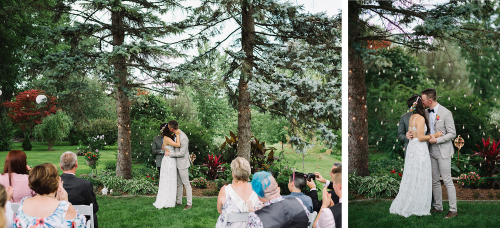 34-Backyard-family-intimate-cottage-wedding-chatum-kent-toronto-ontario-film-photographer-ryanne-hollies-photography-diy-string-lights-ceremony-space-lanterns-groom-and-bride-first-kiss.jpg