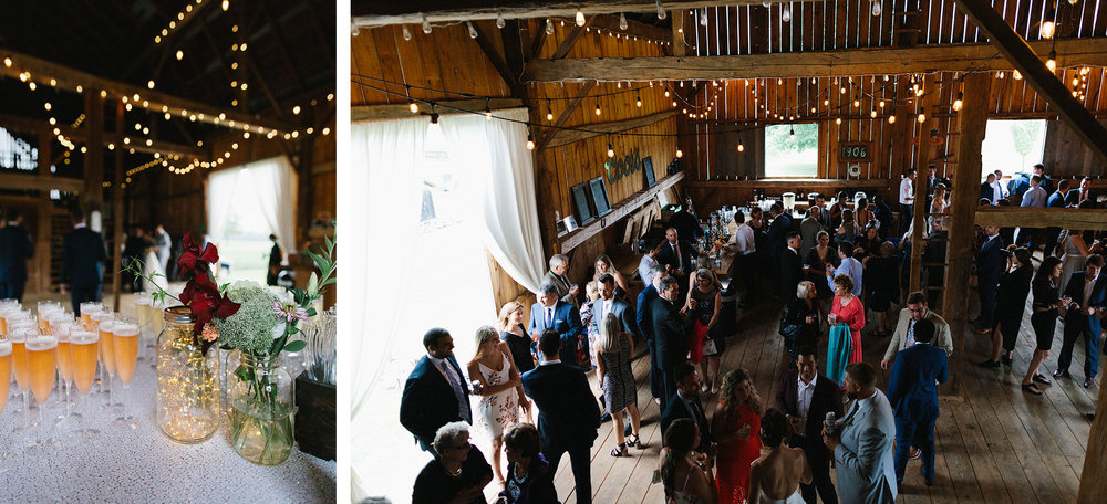 cambium-farms-wedding-ryanne-hollies-photography-gay-wedding-lgbtq-trendy-cool-badass-junebug-weddings-inspiration-cocktail-hour-barn-with-blue-skies.jpg
