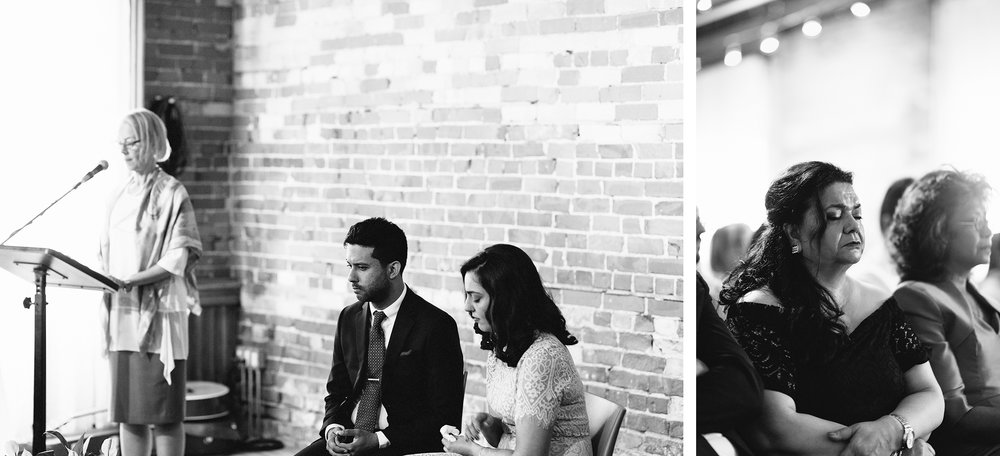 8-Best-Analog-Film-Wedding-Photographers-Toronto-Downtown-Urban-Gladstone-Hotel-Venue-Inspiration-Top-Venues-in-Toronto-boutique-hotel-candid-documentary-brunch-ceremony-bride-and-groom-moments-together-grooms-vows-mom-very-emotional-crying.jpg