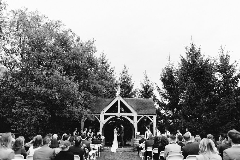 bw-bellamere-winery-ceremony-rustic-bride-and-groom-saying-vows-cinematic-emotional-crying-toronto's-best-wedding-photographers-candid-documentary-style-photography-london-ontario-winery-wedding-inspiration.jpg
