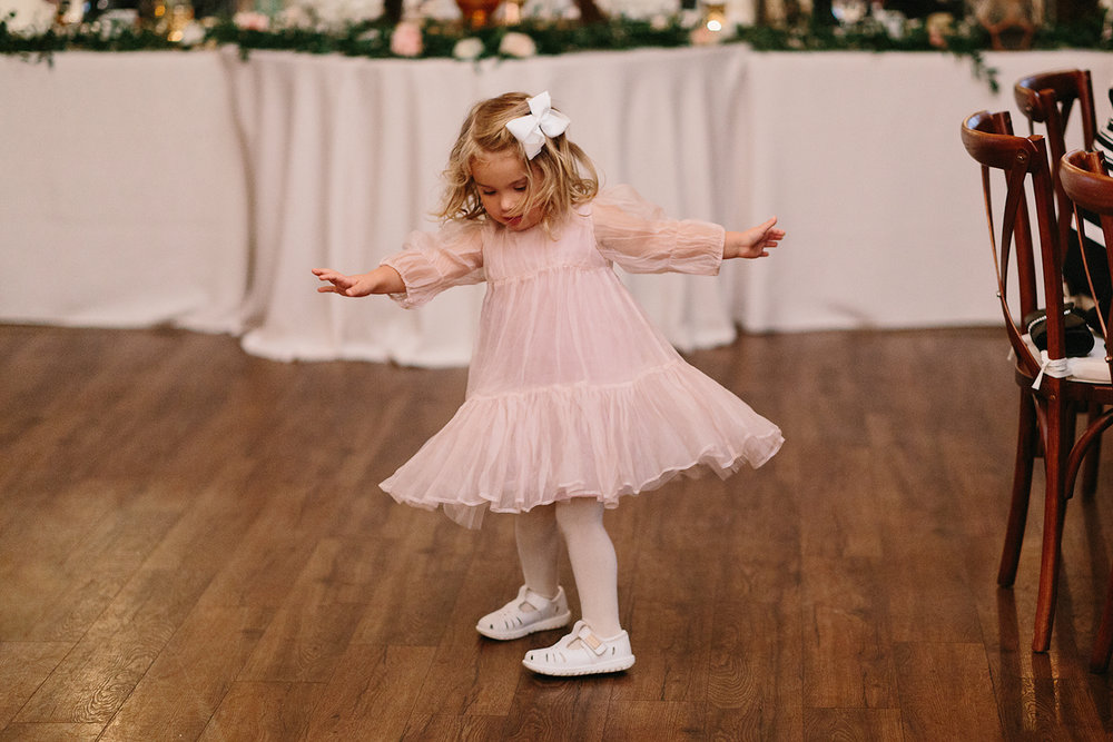 reception-diy-flower-girl-dancing-cute-kid-emotional-cute-toronto's-best-analog-documentary-wedding-photographers-candid-photography-london-ontario-wedding-inspiration.jpg