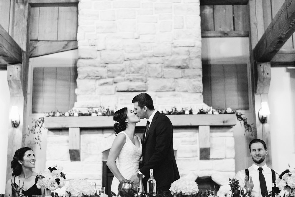 bw-reception-diy-bride-and-groom-speeches-kissing-games-toronto's-best-analog-documentary-wedding-photographers-candid-photography-london-ontario-wedding-inspiration.jpg