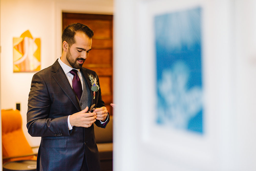 Prince-Edward-County-Drake-Hotel-Elopement-Boutique-Hotel-First-Look-anticipation-groom.jpg