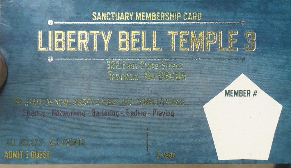 MEMBERSHIP CARDS - $100.oo year