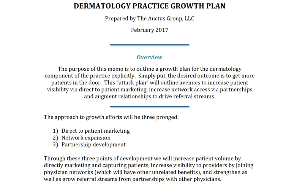 Dermatology Consulting
