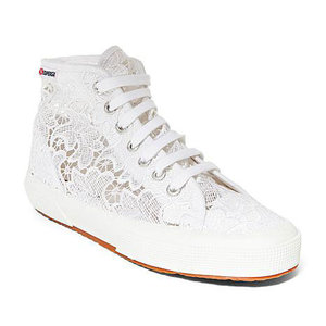 Sneaker - Superga Lace Hi-Top Sneaker