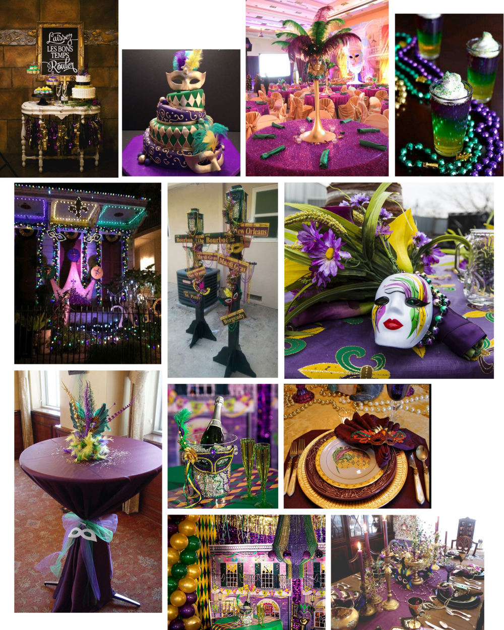 "The history of Mardi Gras (Cliff note version): Traditionally, in the days leading up to Lent, merrymakers would binge on all the meat, eggs, milk and cheese that remained in their homes, preparing for several weeks ofeating only fish and fasting. In France, the day before Ash Wednesday came to be known as  Mardi Gras , or ""Fat Tuesday."""