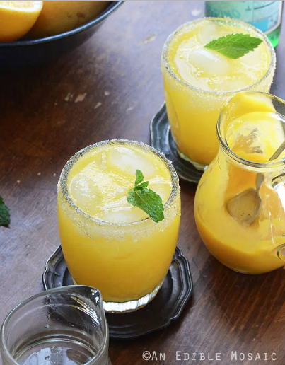 Mango Meyer Lemon Margarita