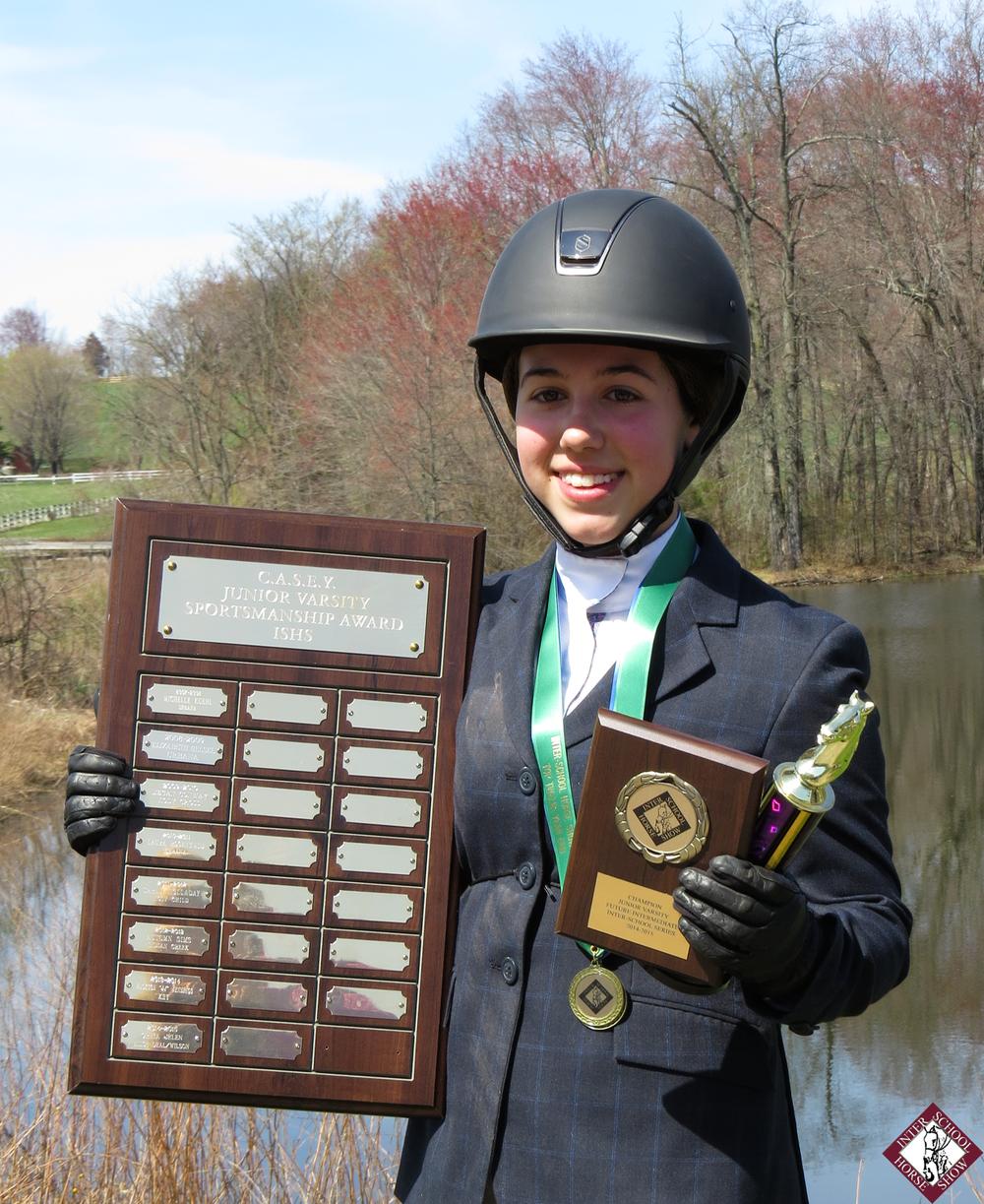ISHS 2014C.A.S.E.Y. Sportsmanship Award winner