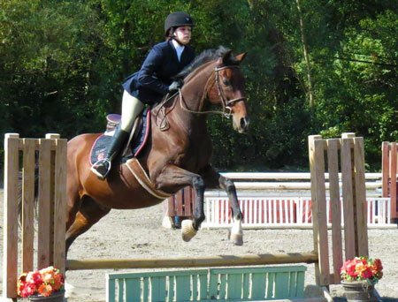 The Surrey Equitation Medal Class features tougher courses for more advanced riders