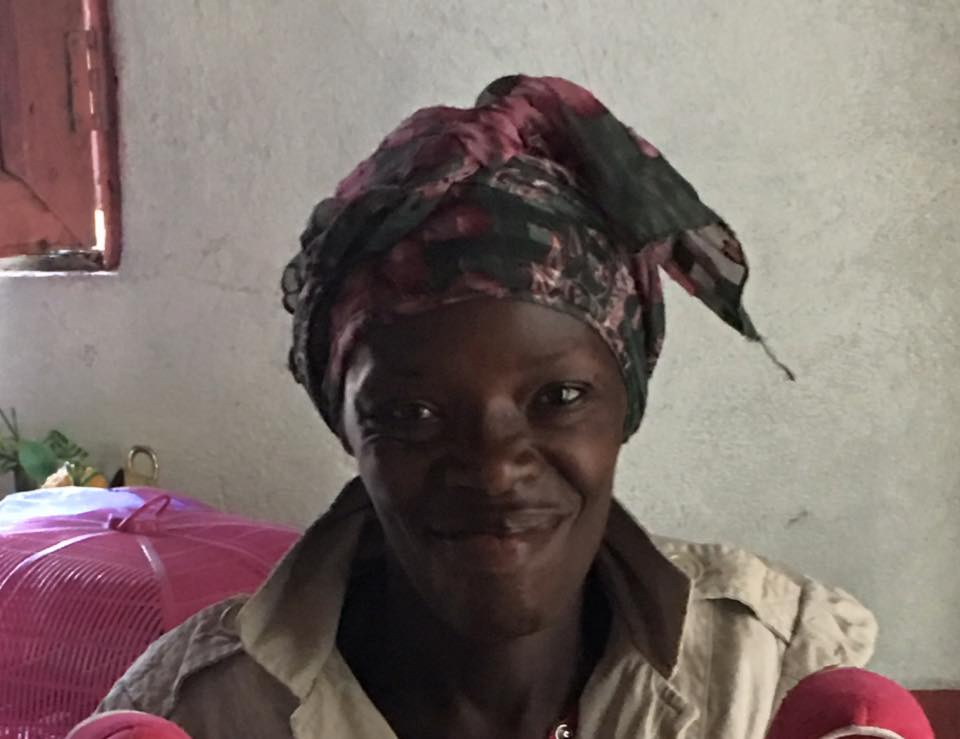 Marie, a widow and mother of 3 children