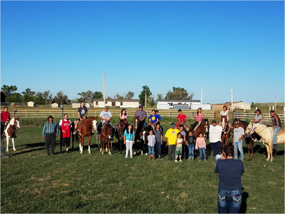 Horse-Culture-youth-program-Wind-River Reservation-mission