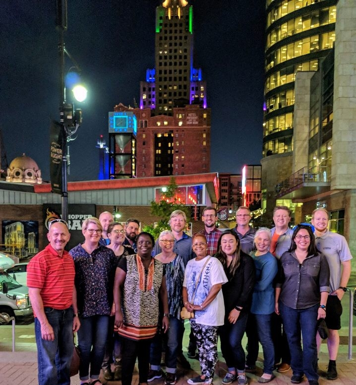 QuadW Missional Internship Site Directors gathered in Kansas City Sept. 18-19