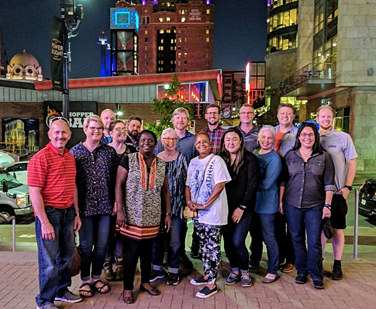 Our wonderful site directors from across the country gather once a year to share stories of God's work and to support each other in this shared mission.  This is from our 2018 meeting in Kansas City.