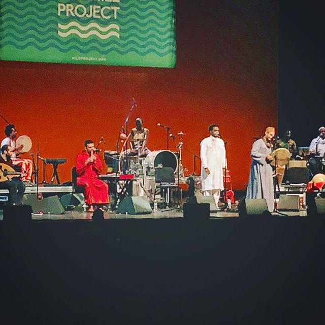 Amazing night of music with the Nile Project! #nileproject #wofaafrofusiondance #musicismedicine