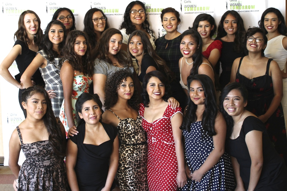 GTWT Participants at the 15th Annual Fashion Show, October 2015