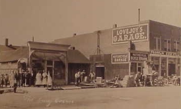 Lovejoy's Garage, photo credit: Wyoming Tales and Trails