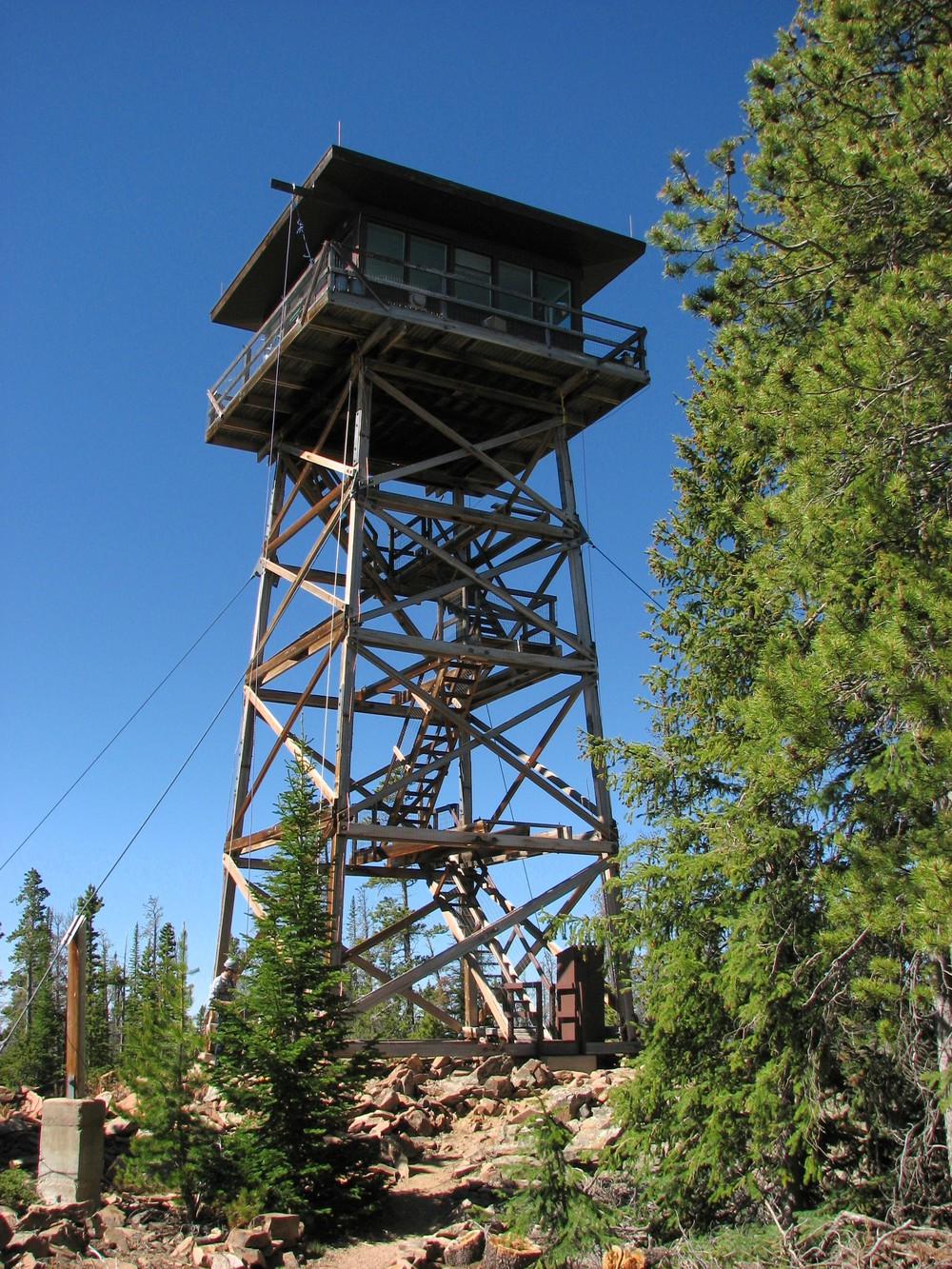 Fire lookout towers are one of several historic resources that exist on public lands in the west. Photo credit: U.S. Forest Service