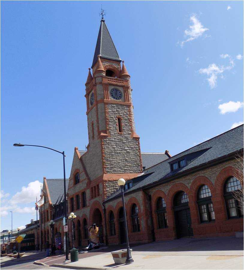 Cheyenne Union Pacific Depot
