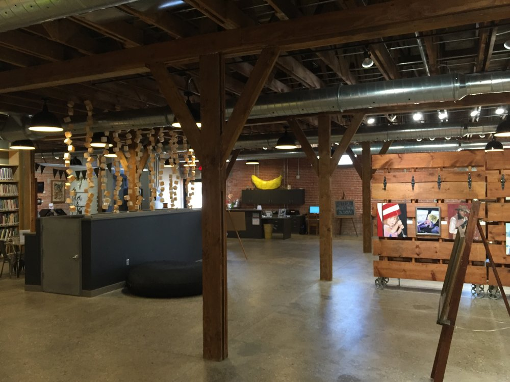 Main interior gallery space