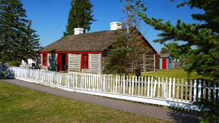 One of the oldest remaining building from the military days, this cabin was an officer quarters duplex, built in 1858.