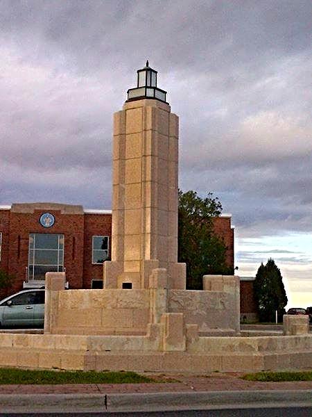 Cheyenne Airfield Fountain