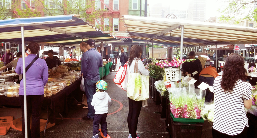 Spend a nice afternoon exploring the Market!