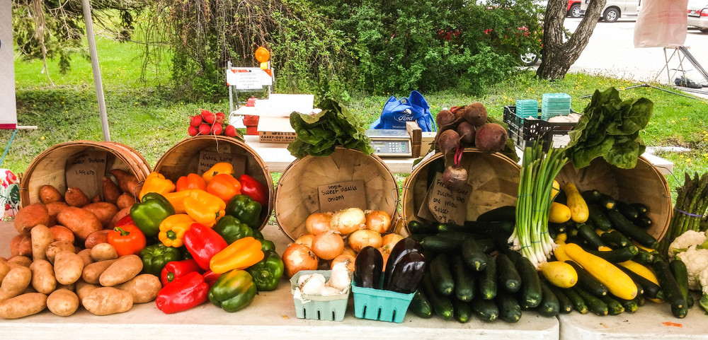 Fresh, Organic, Locally grown vegetables!