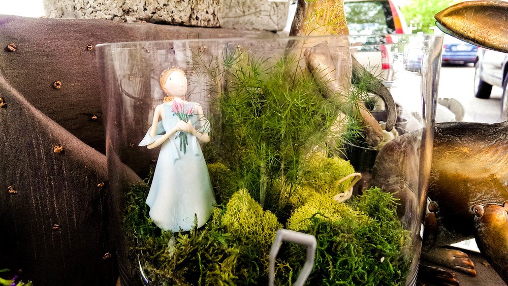 Terrariums make great homes for little fairies!