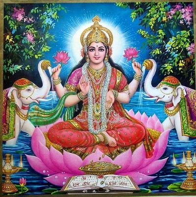 beautiful lakshmi, goddess of abundance & prosperity of both the material and spiritual.