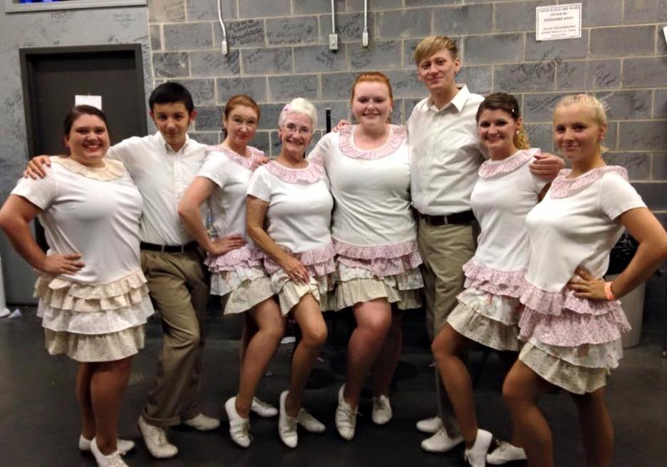 Fancy Free Cloggers gettin' sassy before hoedown!