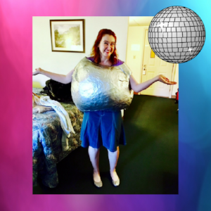 pinterest fail disco ball dance costume