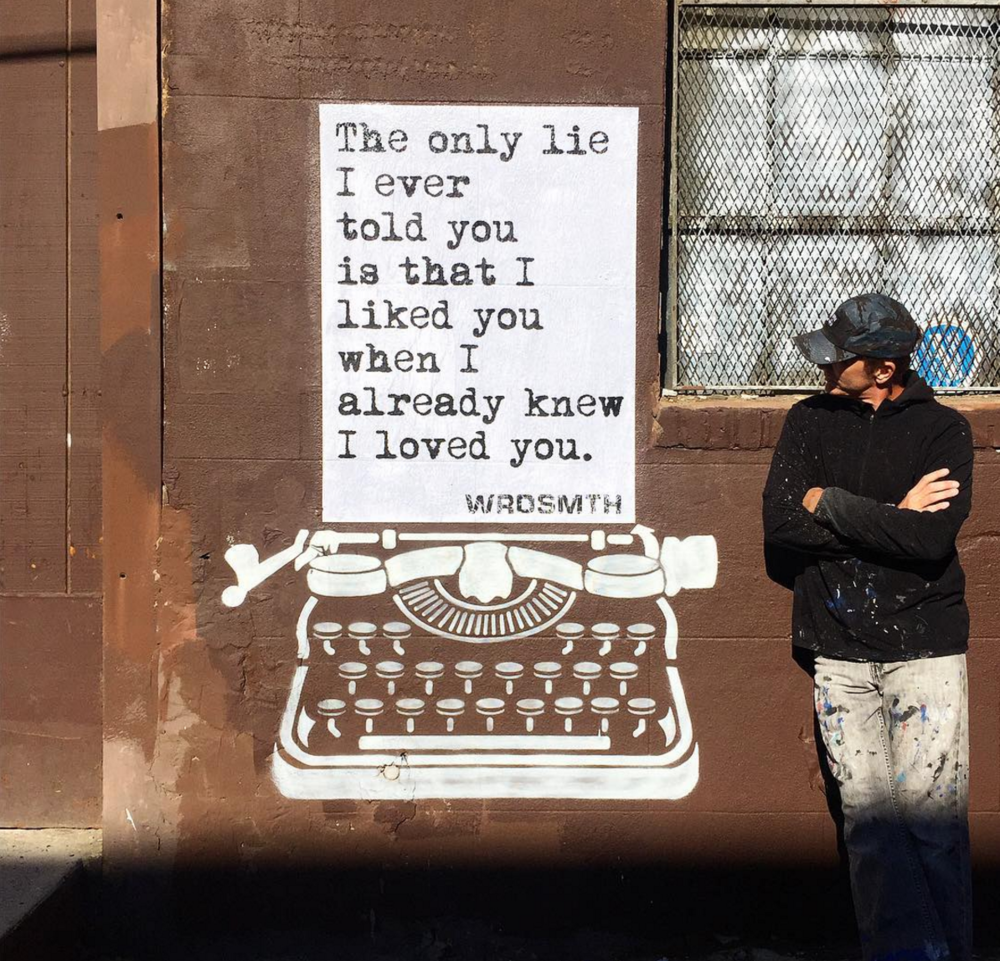 WRDSMTH | Street Artist                        Los Angeles, CA