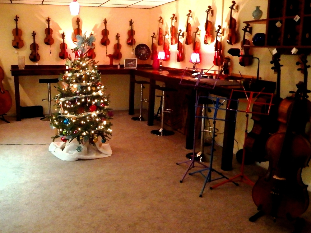 WM Mason II Violin Shop Interior